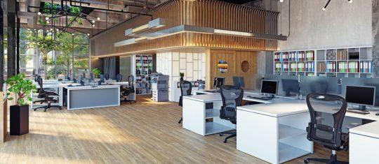 Un mobilier de bureau
